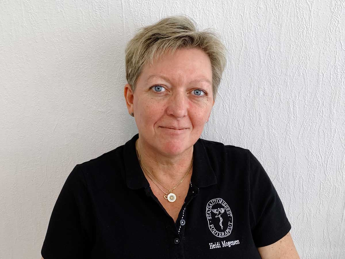 Fodterapeut Heidi Mogensen